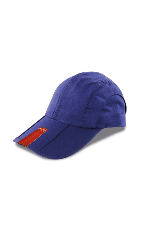 Result Headwear Fold-up baseball cap RC78X Royal One Size