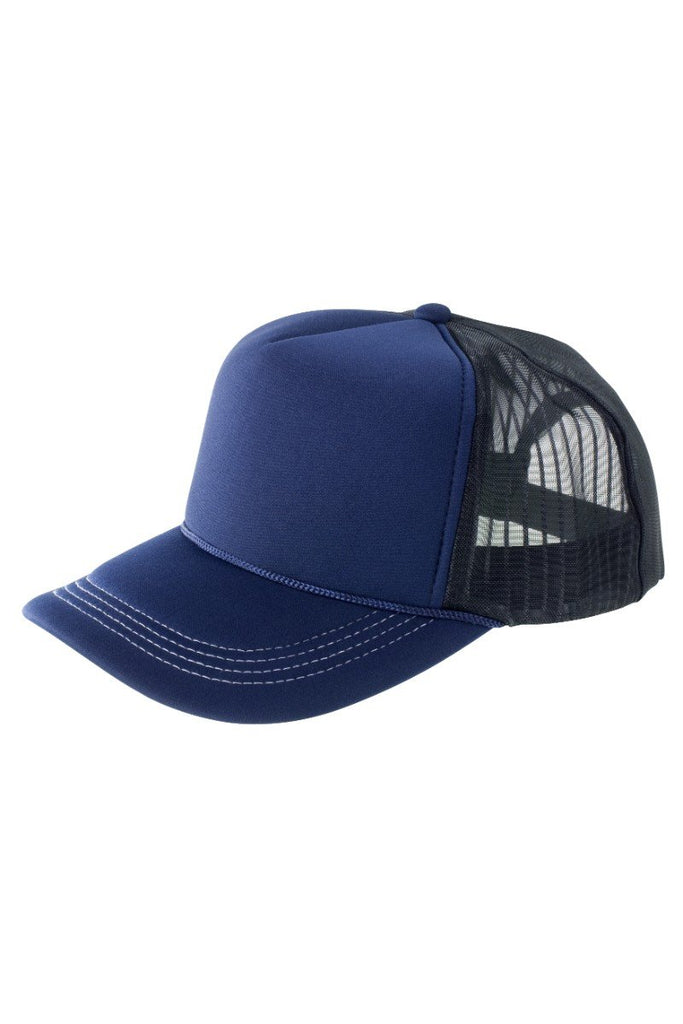 Result Headwear Super padded mesh baseball cap RC79X Navy / White One Size