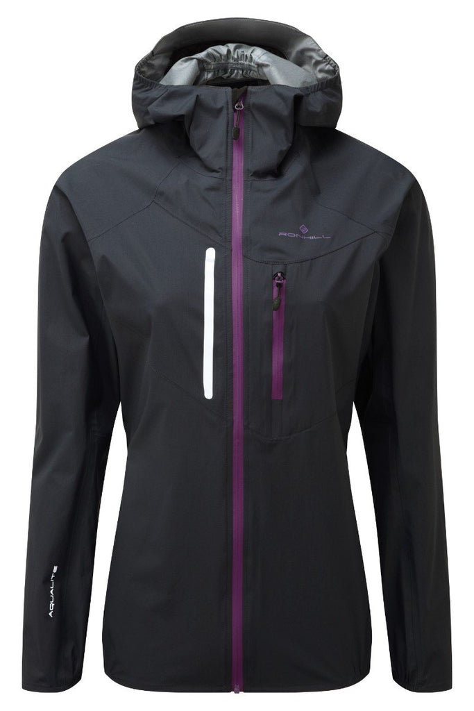 Ronhill Women's Rainfall Jacket RH-001892 Black/Grape
