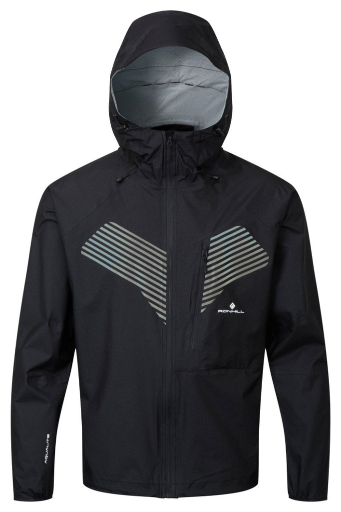 Ronhill Men's Infinity Nightfall Jacket RH-002812 Black/Reflect