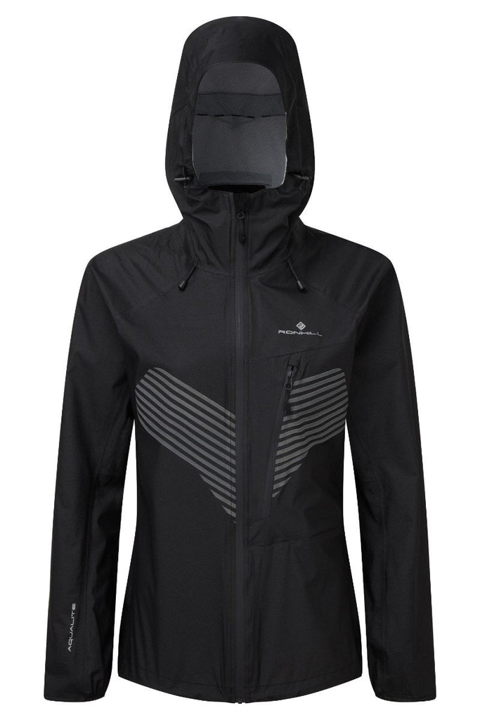 Ronhill Women's Infinity Nightfall Jacket RH-002814 Black/Reflect