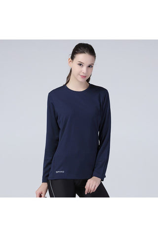 spiro. Spiro Women s Quick Dry Baselayer Long Sleeve T Shirt S254F ce001d0f1d