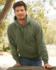 Fruit Of The Loom Premium Hooded Sweatshirt 62152 lifestyle image classic olive