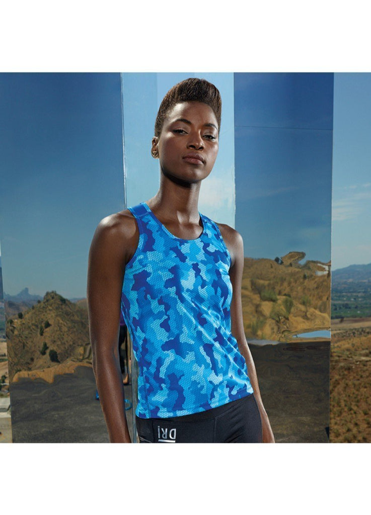TriDri® Hexoflage™ Women's Performance Vest TR026
