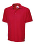 Uneek 250GSM Ultimate Poloshirt UC104 red