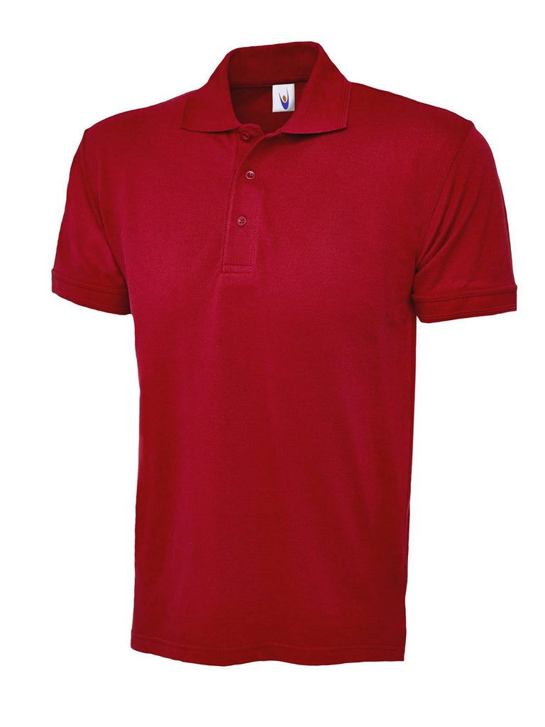 Uneek 200GSM Essential Poloshirt UC109 red