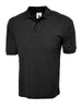 Uneek 220GSM Cotton Rich Poloshirt UC112 black