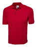 Uneek 220GSM Cotton Rich Poloshirt UC112 red