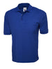 Uneek 220GSM Cotton Rich Poloshirt UC112 royal blue