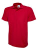 Uneek 175GSM Olympic Poloshirt UC124 red