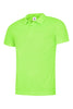 Uneek 140GSM Ultra Cool Poloshirt UC125 electric green