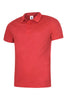 Uneek 140GSM Ultra Cool Poloshirt UC125 red