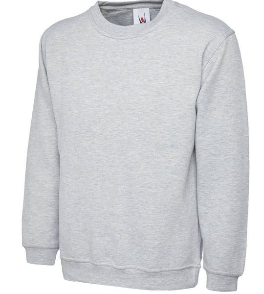 Uneek 300GSM Classic Sweatshirt UC203 Lighter Colours