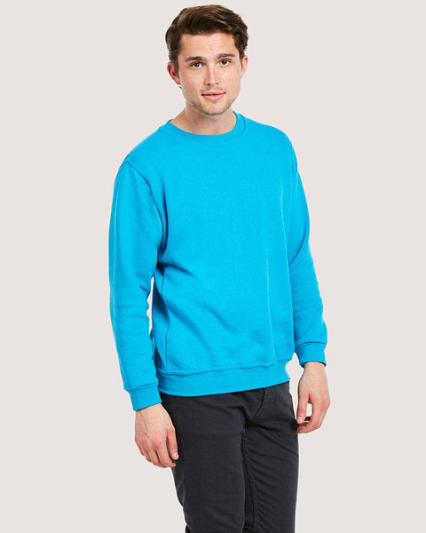 Uneek 300GSM Classic Sweatshirt UC203 Lighter Colours Life Style Main