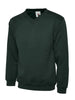 Uneek 300GSM Premium V-Neck Sweatshirt UC204 bottle green