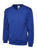 Uneek 300GSM Premium V-Neck Sweatshirt UC204 royal blue
