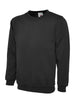 Uneek 260GSM Olympic Sweatshirt UC205 black