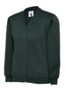 Uneek Children 300GSM Cardigan UC207 bottle green
