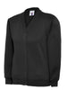 Uneek Children 300GSM Cardigan UC207 black