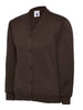Uneek Children 300GSM Cardigan UC207 brown