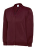 Uneek Children 300GSM Cardigan UC207 maroon