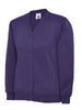 Uneek Children 300GSM Cardigan UC207 purple