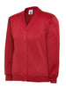 Uneek Children 300GSM Cardigan UC207 red