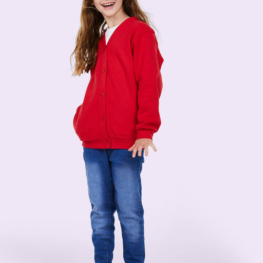 Uneek Children 300GSM Cardigan UC207