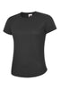 Uneek Ladies 140GSM Ultra Cool T-Shirt UC316 black