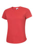Uneek Ladies 140GSM Ultra Cool T-Shirt UC316 red