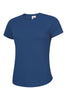 Uneek Ladies 140GSM Ultra Cool T-Shirt UC316 royal blue