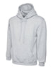 Uneek 350GSM Premium Hooded Sweatshirt UC501 heather grey
