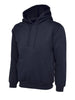 Uneek 350GSM Premium Hooded Sweatshirt UC501 navy blue