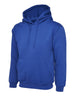 Uneek 350GSM Premium Hooded Sweatshirt UC501 royal blue