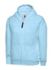 Uneek Childrens 300GSM Classic Full Zip Hooded Sweatshirt UC506 sky blue