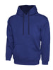 Uneek 300GSM Contrast Hooded Sweatshirt UC507 royal navy blue