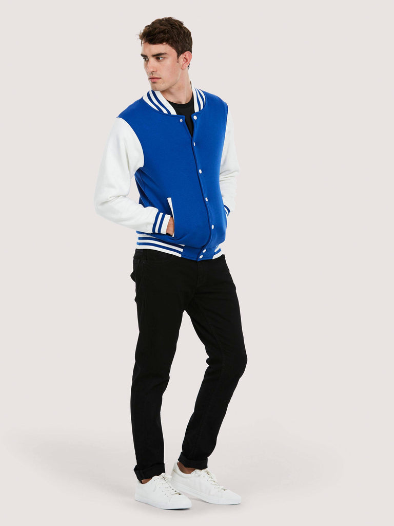 Uneek Men's 300GSM Varsity Jacket UC525