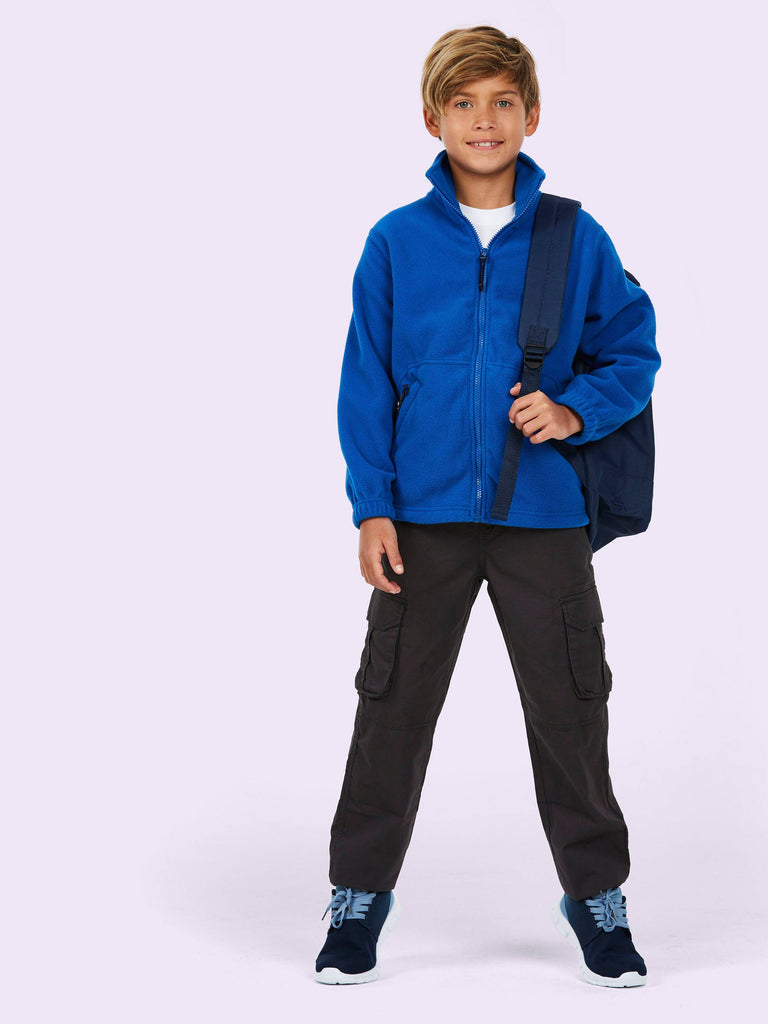 Uneek Childrens 300GSM Full Zip Micro Fleece Jacket UC603