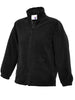 Uneek Childrens 300GSM Full Zip Micro Fleece Jacket UC603 black