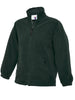 Uneek Childrens 300GSM Full Zip Micro Fleece Jacket UC603 bottle green