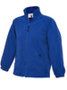 Uneek Childrens 300GSM Full Zip Micro Fleece Jacket UC603 royal blue
