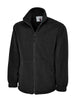 Uneek 300GSM Classic Full Zip Micro Fleece Jacket UC604 black
