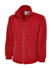 Uneek 300GSM Classic Full Zip Micro Fleece Jacket UC604 red