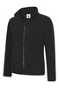 Uneek Ladies 300GSM Classic Full Zip Micro Fleece Jacket UC608 black