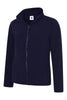 Uneek Ladies 300GSM Classic Full Zip Micro Fleece Jacket UC608 navy blue