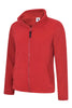 Uneek Ladies 300GSM Classic Full Zip Micro Fleece Jacket UC608 red