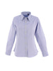 Uneek Ladies 140GSM Pinpoint Oxford Full Sleeve Shirt UC703 light blue