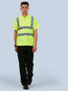 Uneek 250GSM HI-Vis Polo Shirt UC805