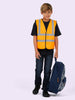 Uneek Childrens Hi-Vis Waist Coat vest UC806