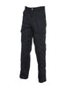 Uneek 245GSM Cargo Trouser With Knee Pad Pocket UC904 black